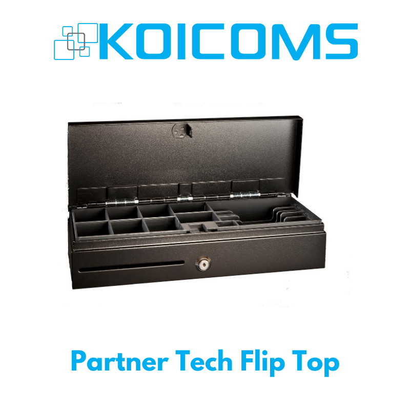Partner Tech Flip Top Cash Drawer