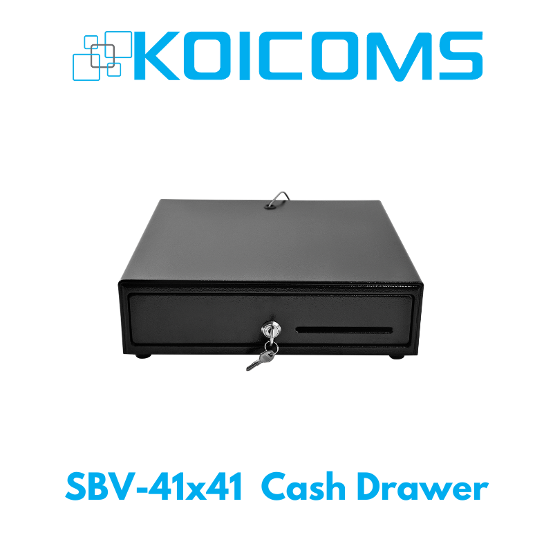 SBV-41x41 Standard Cash Drawer - Black