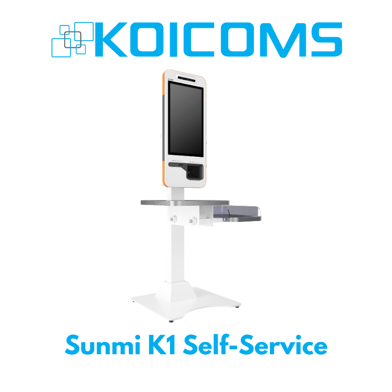 SUNMI K1 Self-Service Base Kiosk with Built-In Printer